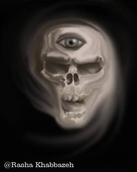 Three Eyed Skull
