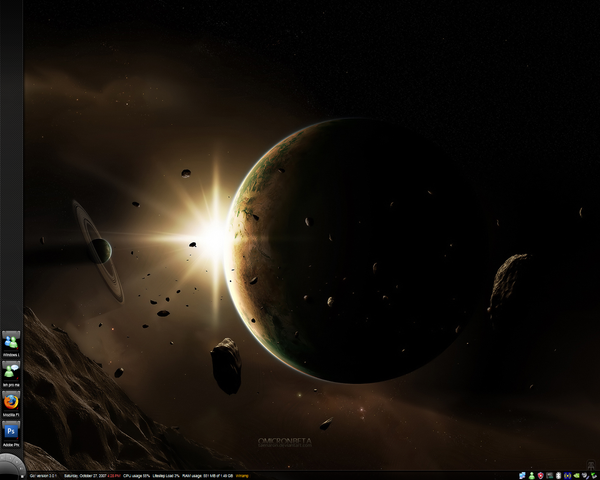 Current Desktop by Misogii