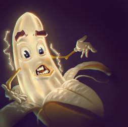 Eletric Banana by gabrielrubio