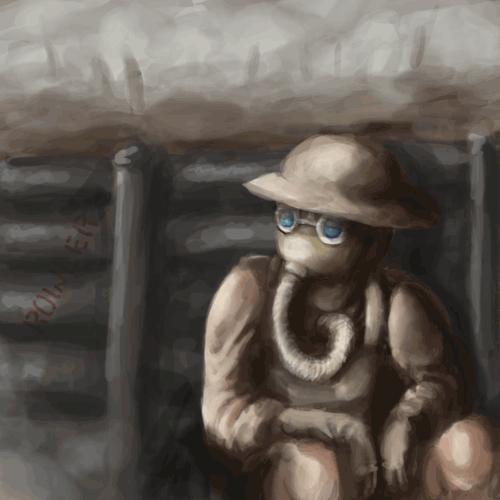 WWI Snippy by Lilnanny