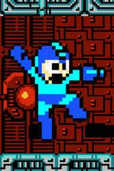 Mega Man iPhone wallpaper by DaSuxXa