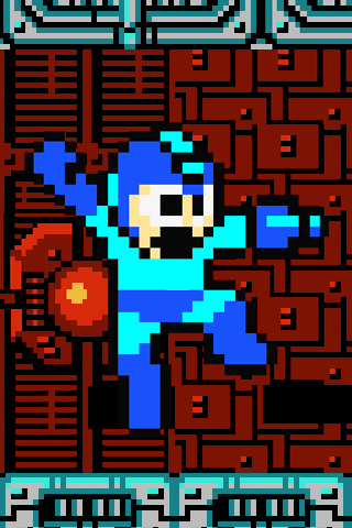 mega man iphone wallpaper by dasuxxa on deviantart