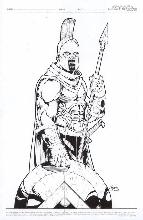 Leonidas, Spartan Hoplite by Kid-Destructo on DeviantArt