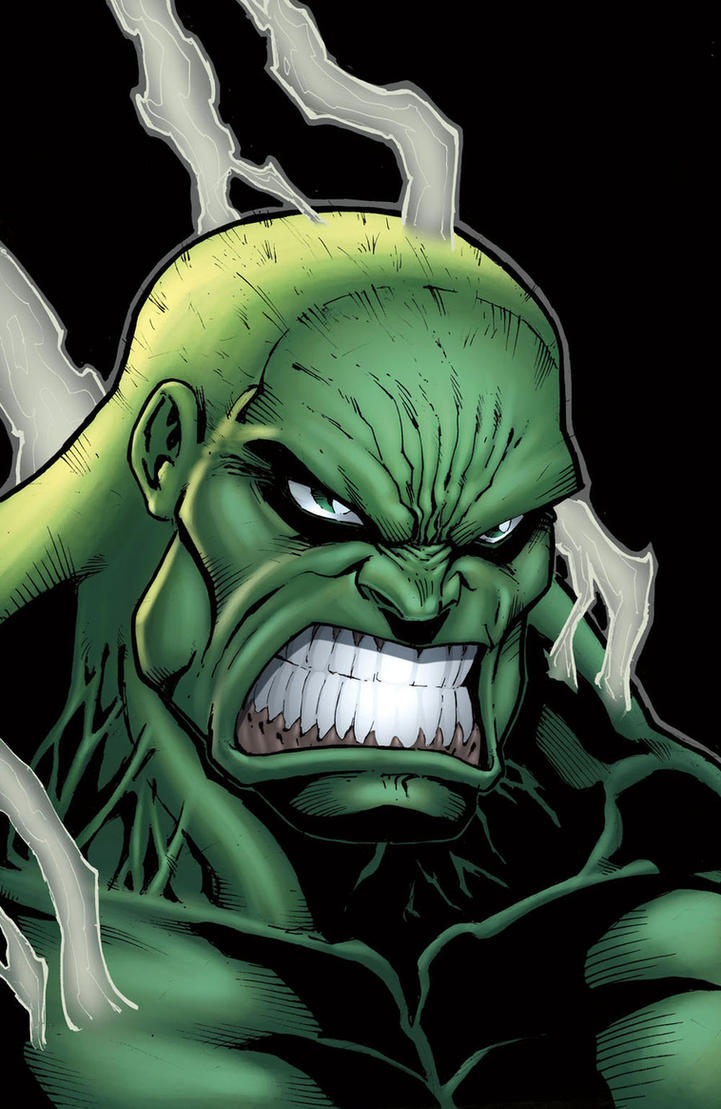 Bad day Hulk Colored by Kid-Destructo