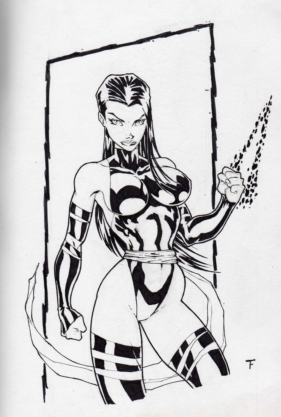 Psylocke by Kid-Destructo