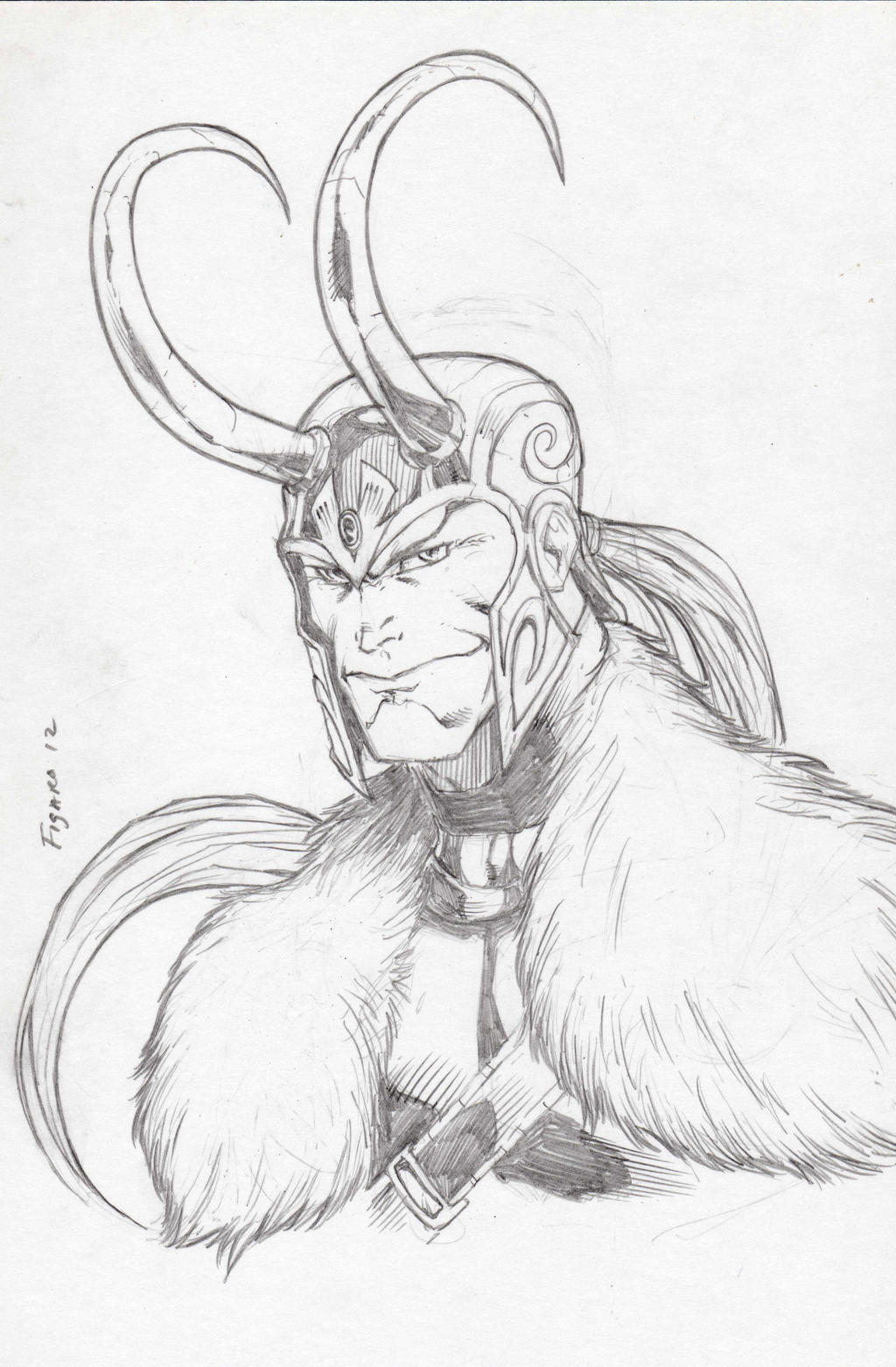 Loki Commish by Kid-Destructo