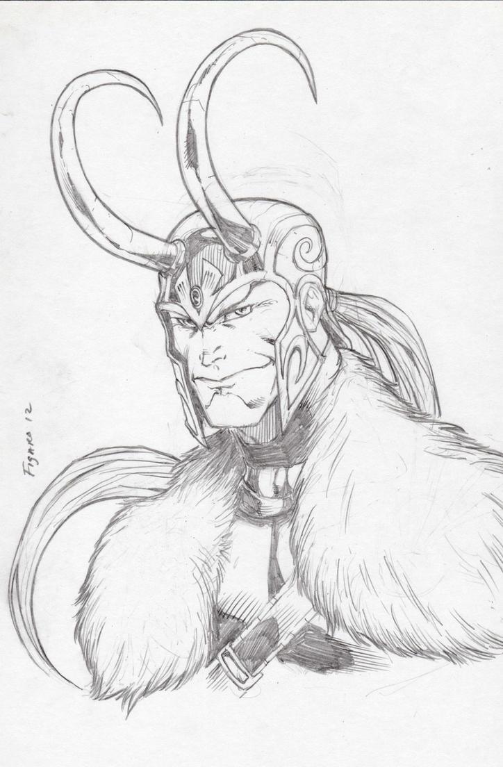 Loki Commish by Kid-Destructo