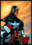 Captain America colored