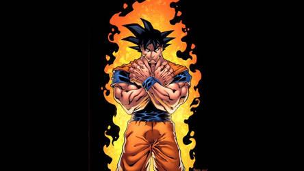 Goku  by Kid-Destructo