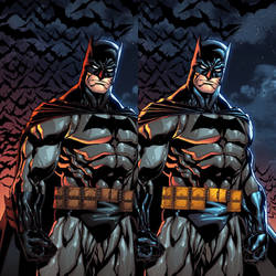 Batman blue or black by Kid-Destructo