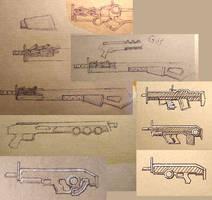 Raider weapon design