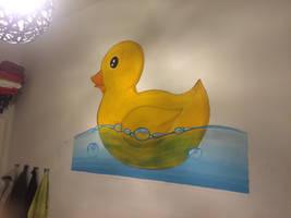 Mural 'Rubber Duck' by Gregor1992