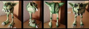 Green Monster Sculpture by Gregor1992