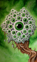 Eyetree finished Painting by Gregor1992