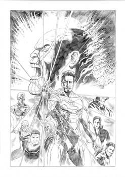Iron man Avengers EndGame Original art