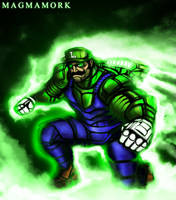 THE GREEN MISSILE by Magmamork