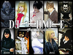 Death Note Cosplay Group