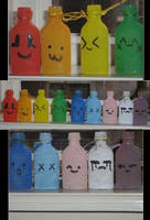 Happy Bottles by D-e-b-b-y
