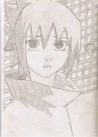 Sasuke as kid by D-e-b-b-y
