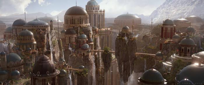 Sci-fi Environment Design Concept Art