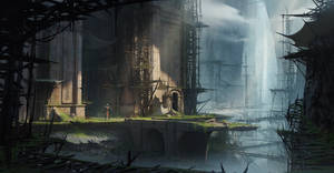 The Lost Soldier- Environment Concept Design