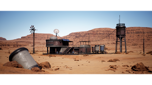Creating a Desert Outpost