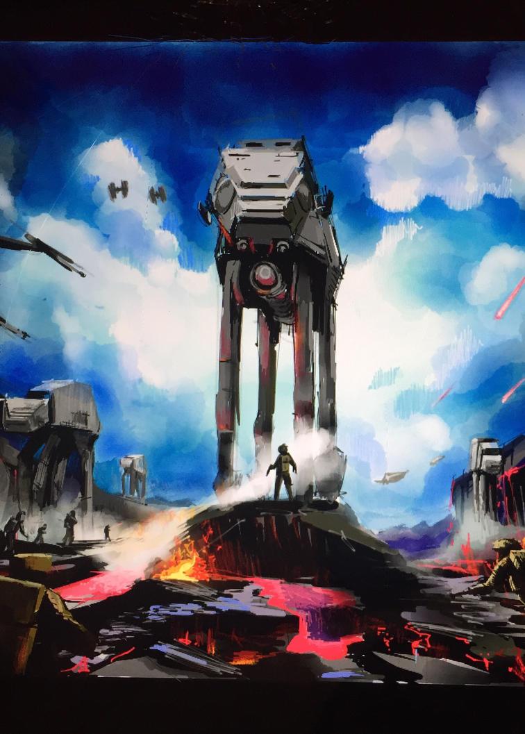 Star Wars Battlefront  by nikkidutchy
