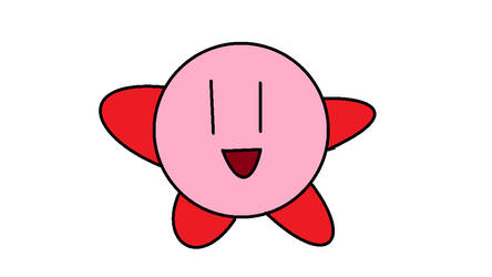 made a picture of kirby (remake)