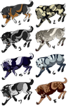 .:Wolves adoptables 2018 chart 3:. Open! (8/8)