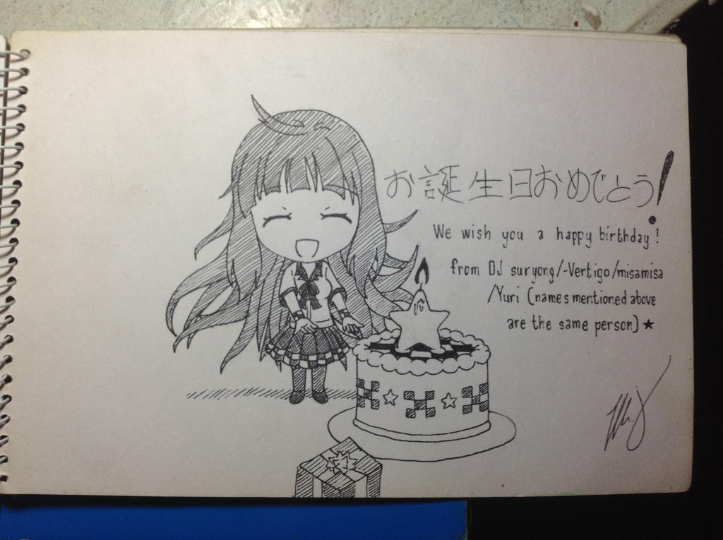 SSSS Girl Chibi Happy Birthday (DJMAX Fanart) by ...