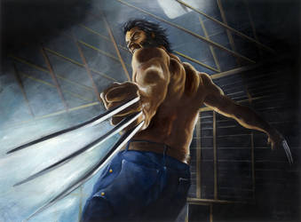 Wolverine by lucagranchi
