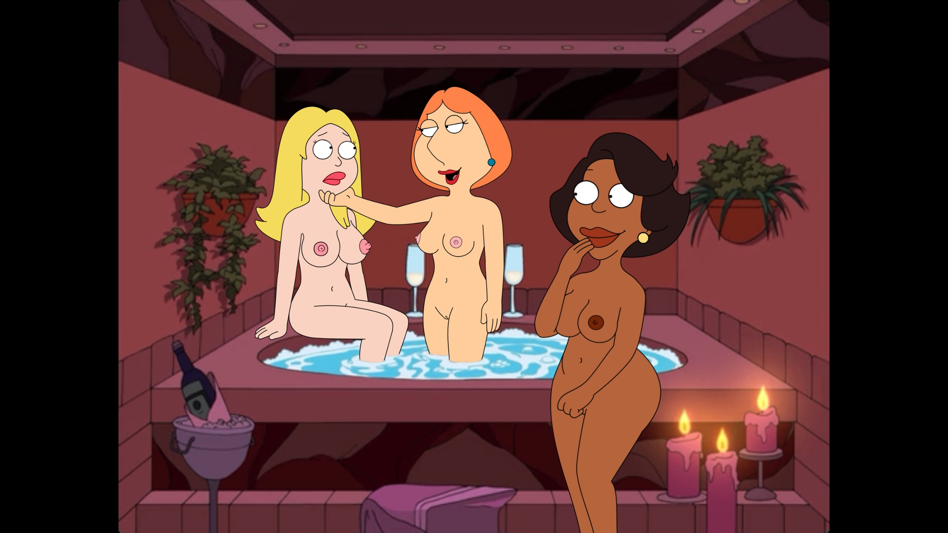 the girls of american dad naked