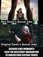 Original Dante has Class...
