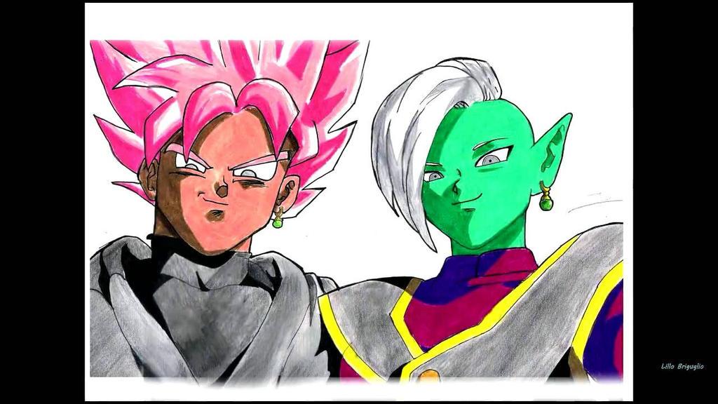 Goku Black Ssj Rose Para Colorear: SPEED DRAWING By Darkaharveey