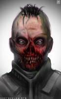 Zombie by noistromo