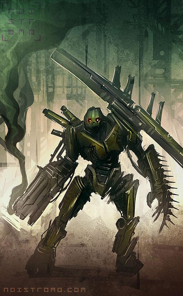 BattleBot_x002 by noistromo