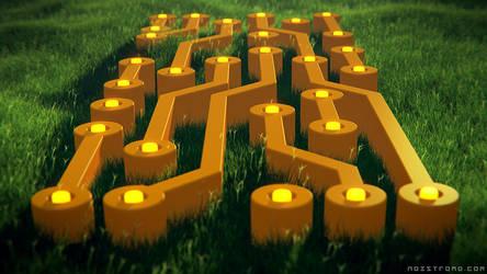Circuits on grass