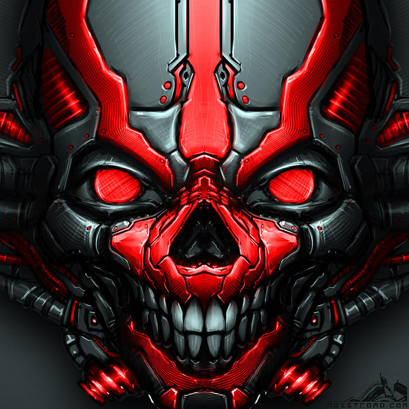MechSkull by noistromo