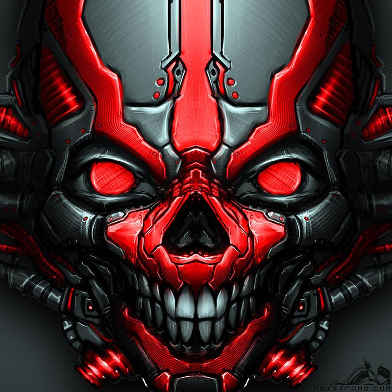 MechSkull by noistromo