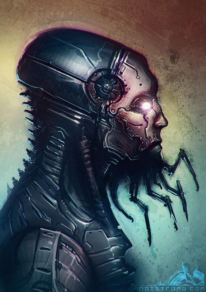 Cyborg-T by noistromo