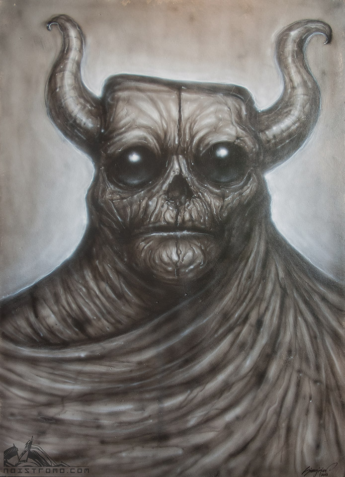 Demonic creature. by noistromo