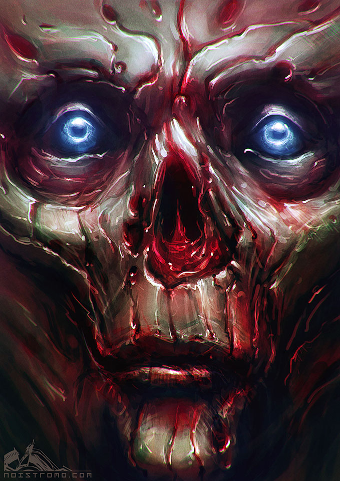 Undead Face 003 by noistromo
