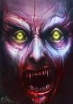 Undead Face - Vampire