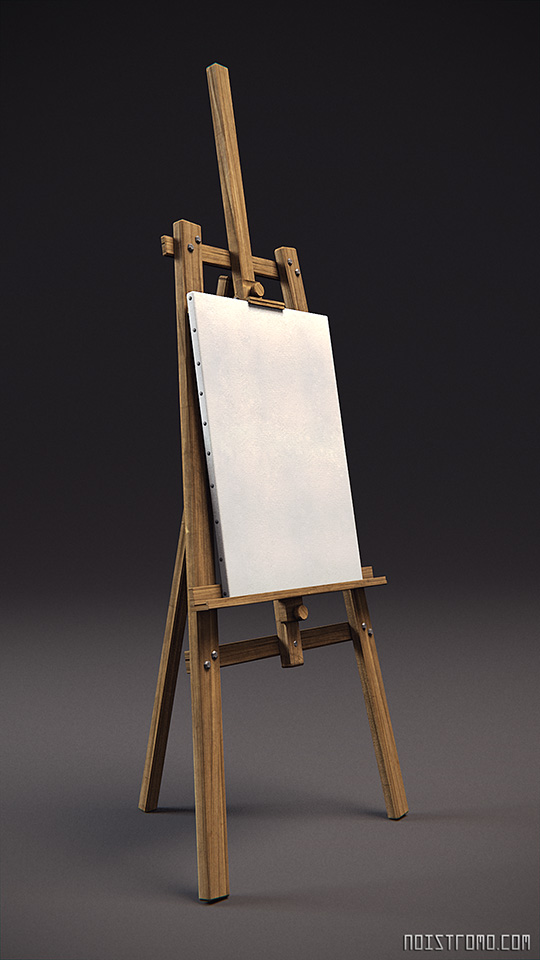 Easel by noistromo