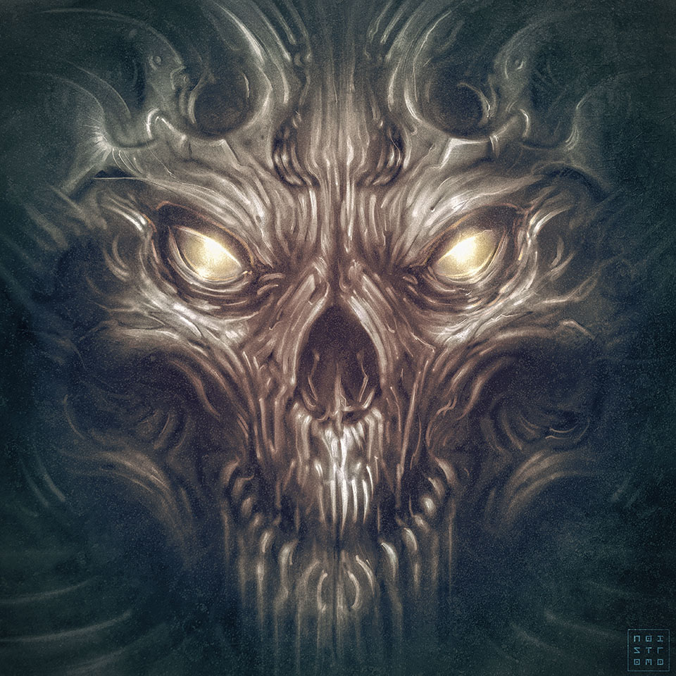 Dark-Skull by noistromo