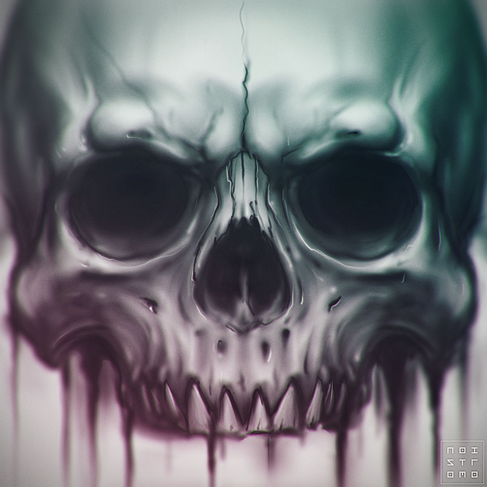 Skull by noistromo