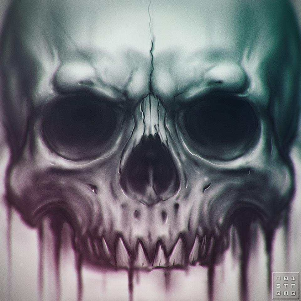 Skull by noistromo