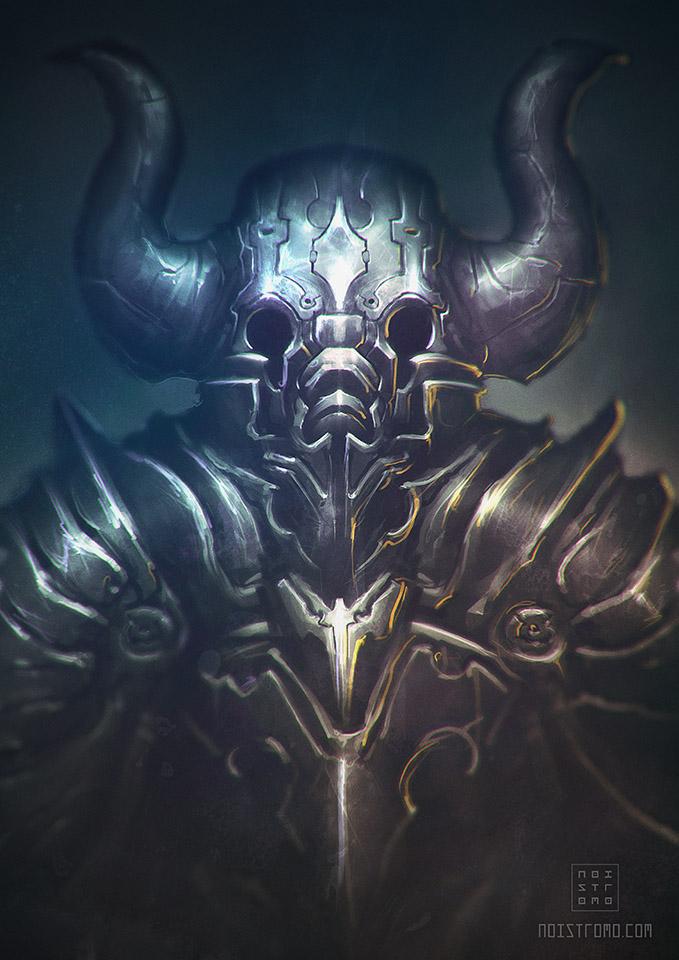 Random dark-knight by noistromo
