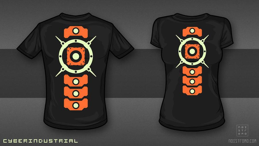 CyberIndustrial - T-shirt design. by noistromo