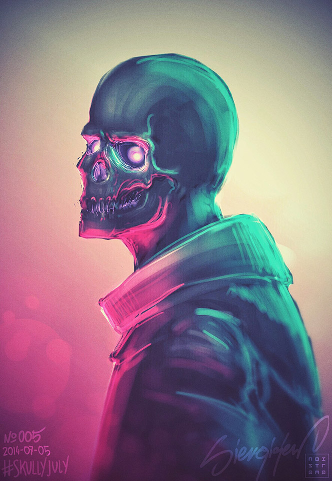Skullyjuly-005 by noistromo
